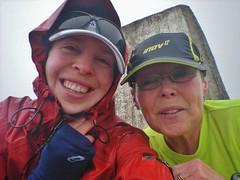 Clare and Fiona Summit Bein Edra!