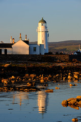 Reflection  at Toward Point, Cowal peninsula, Scotland (iancowe) Tags: lighthouse reflection river point scotland clyde scottish stevenson peninsula firth dunoon toward inverkip cowal lighthousetrek wbnawgbsct