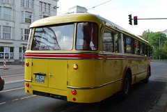 Germany - Leipzig IFA Bus 1956 Rear Offside (Le Monde1) Tags: bus germany deutschland nikon sebastian saxony rear leipzig bach 1956 johann d60 ifa offside lemonde1