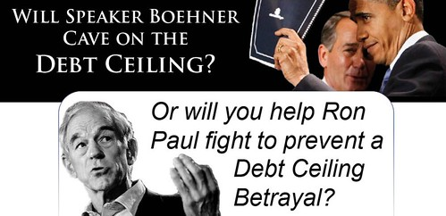 Ron Paul Cracks the Whip on Boehner