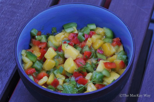 Rock Star Mango Salsa