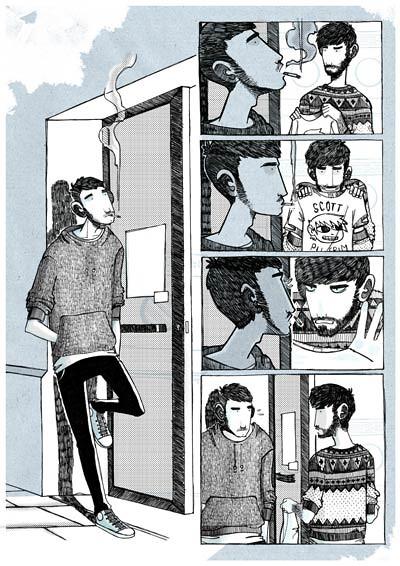 Amores Minúsculos, página 1. 2011
