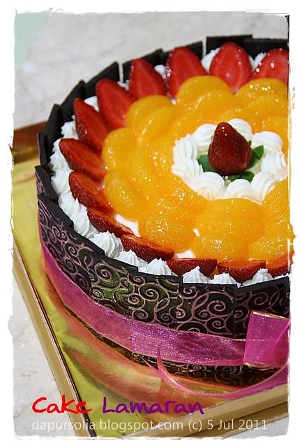 Cake Lamaran