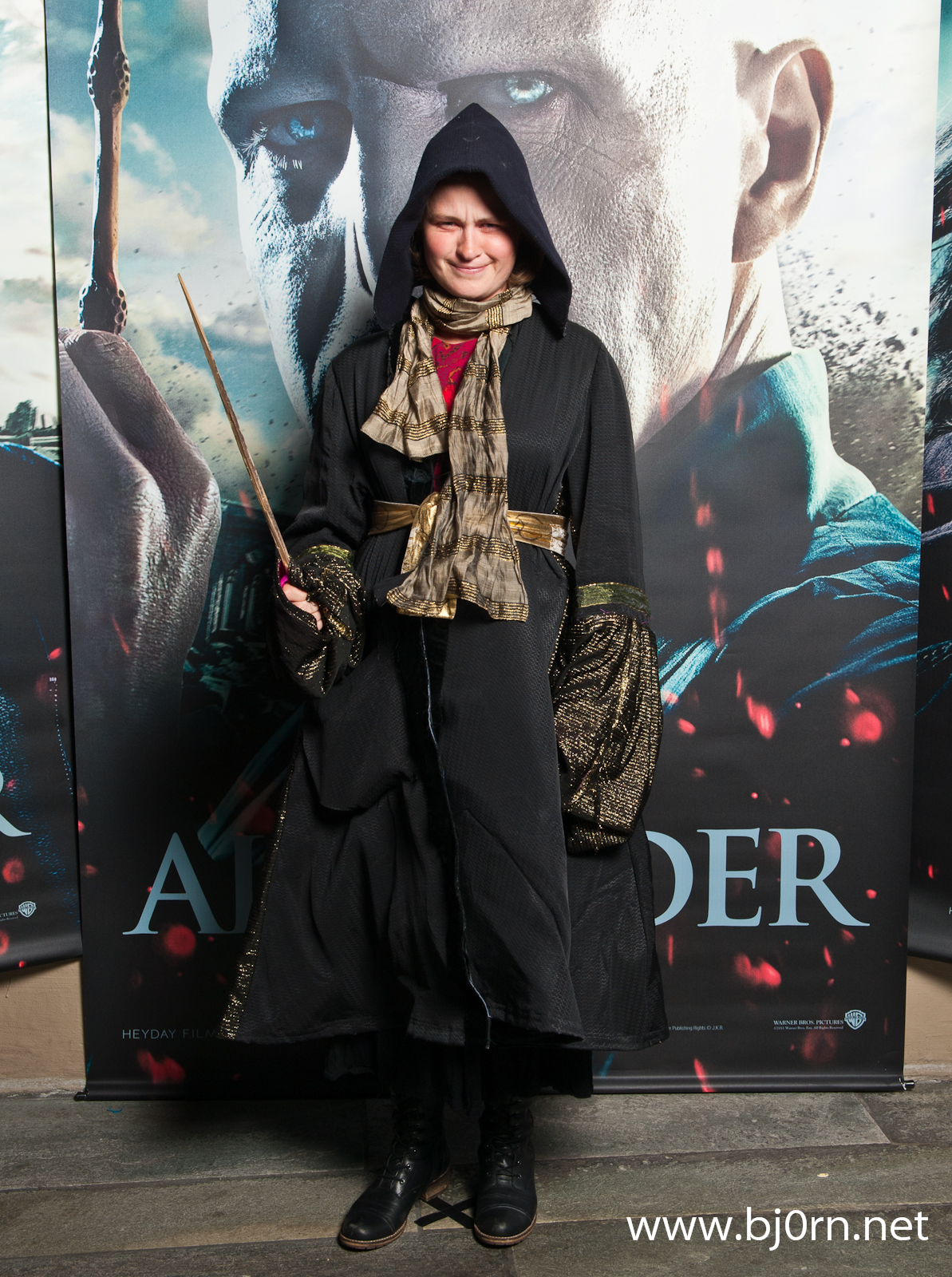 photo: Bjørn Christiansen, The Harry Potter-première at Nova Kinosenter in Trondheim, 2011