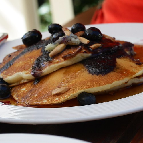Blueberry Pancakes @ Meadowood Napa Valley