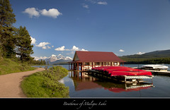 "The Boathouse of Maligne Lake-my love affair..... (Joalhi ""Back in Miami"") Tags: canada jasper alberta boathouse malignelake naturesfinest supershot canon5dmarkii coth5"