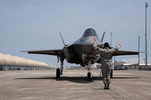First F-35A Arrives at Eglin AFB