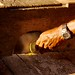 Fazendo farinha de mandioca e derivados