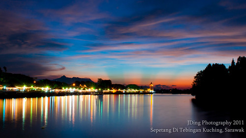 Sunset @ Waterfront Kuching by Joshua Aquinas Ding