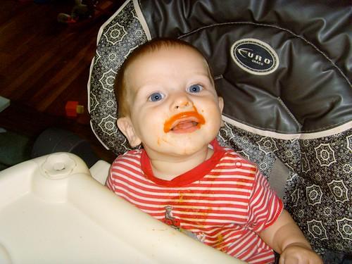 Carrot mustache!