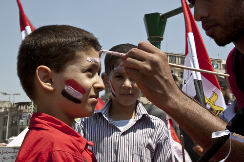 Face painting, Tahrir