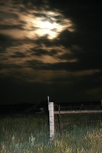 A night photo.