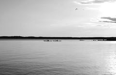 Kajaking in sunset (Jetuma) Tags: sunset summer lake sol water sweden karlstad vatten vnern sommar solnedgng gteborgsudden