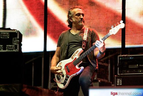Rigo Righetti @ Campovolo 2.0 (Ligabue) 16 luglio 2011 - foto ligachannel,com