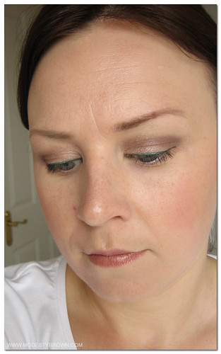 Thatface Kevyn Aucoin: Modesty Brown: FoTD With Annabelle Eyeliner And Kevyn