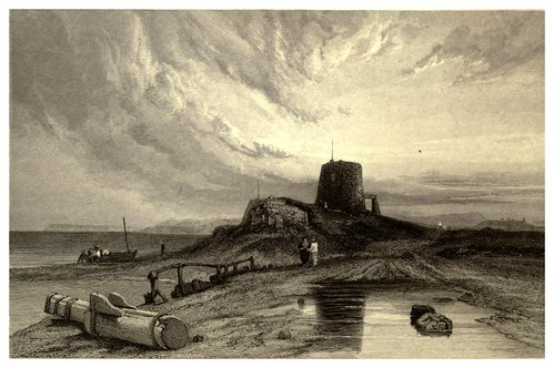 012-Torre Martello-Inglaterra-Stanfield's coast scenery…1836- Clarkson Stanfield