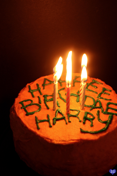 Diamonds for Dessert Harrys Birthday Cake