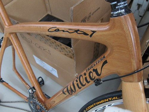 Wilier out of wood