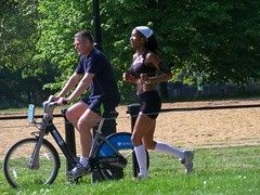 Hyde Park Runner (Waterford_Man) Tags: people london parks tourists paths