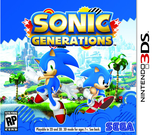 Sonic Generations 3DS Pack Front