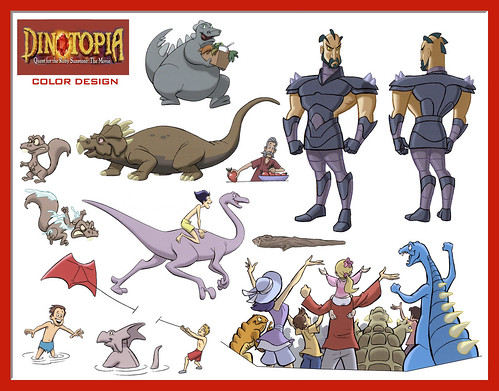 dinotopia coloring pages - photo#13