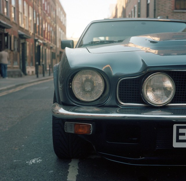 new london car minolta 400 portra 000 spitalfields maserati autocord astonmartinv8vantage