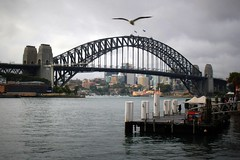 Sydney Harbour Bridge, Australia - Explored (Hopeisland) Tags: city sydney australia  2011   explored
