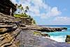 OahuHawaii-0088 (chucksmithphoto) Tags: ocean usa man dave hawaii coast rocks waves oahu shore palmtree honolulu portlock hanapepeloop