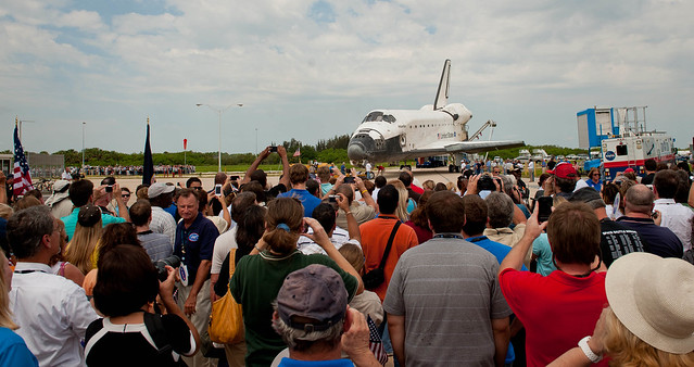 STS-135 Wheels Stop Event (201107210010HQ)
