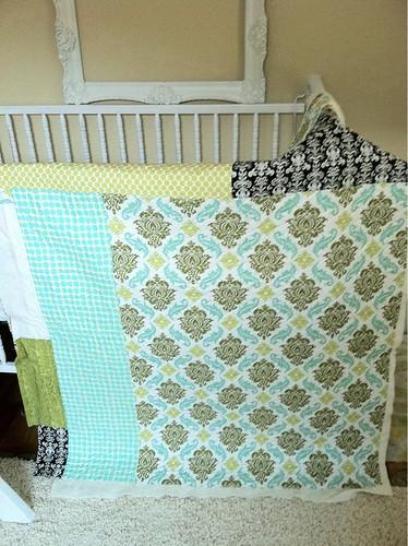 R's baby quilt
