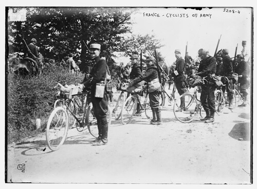 France -- Cyclists of Army (LOC)