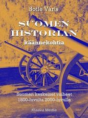 Suomen historian käännekohtia-kirjan kansikuva