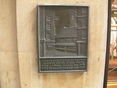 Photo of Henry Kirke White black plaque
