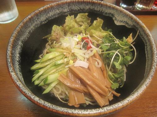 冷やしサラダ麺@大鷹ラーメン(江古田)