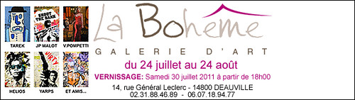 Exposition Galerie  La Bohême // Deauville by Pegasus & Co