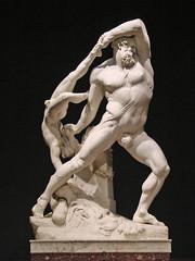 Hercule et Lichas d'A. Canova (GNAM, Rome)