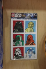 Hallmark LEGO Star Wars Stickers