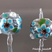 Earring : Blue Blossom Flower