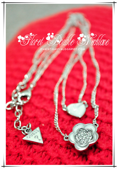 GUESS Floret Double Necklace