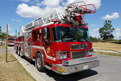 Mississauga Fire Aerial 110 (HANGAR ENT.) Tags: rescue ontario canada water dumpster truck court fire high 911 police ct aerial ambulance rise emergency mississauga department 107 roche 2111