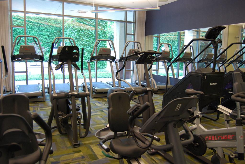 Fitness center for associates