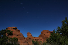 ursa major over red rock (J Blough) Tags: stars arches moab constellation utaharchesnationalpark