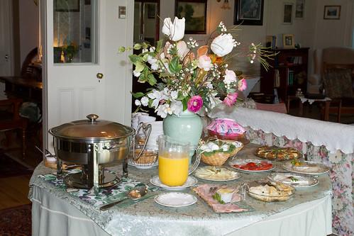 Auberge La Chatelaine - Breakfast
