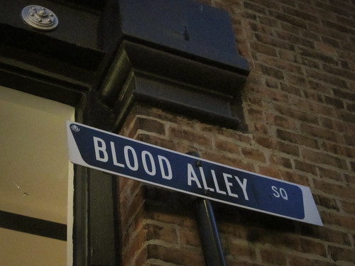 Blood Alley in Gastown