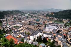 Rainy day in Salzburg (andreaskoeberl) Tags: city longexposure salzburg rain clouds austria nikon hdr ndfilter 1685 d7000 nikon1685 nikond7000 andreaskoeberl