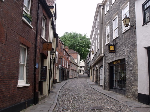 Wrights Court, Elm Hill, Norwich - Tea House and John Olivers