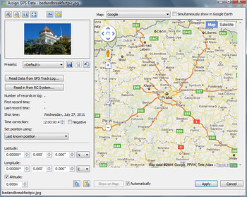 Editing Image EXIF data to add geocodes for Local SEO