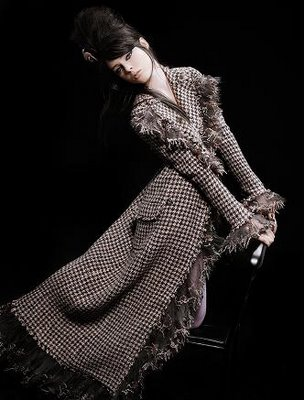 Chanel Paris-London 2008  Coco Rocha by Karl Lagerfeld (1)