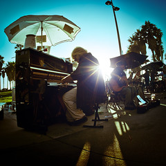 Music Man (Orispace) Tags: california street sunset music beach canon la los angle angeles wide 5d venicebeach 15mm mkii canon5dmkii discoverla