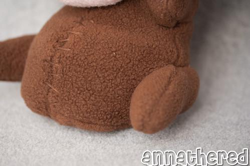 stuffed stuff: plush Pyth from Bastion